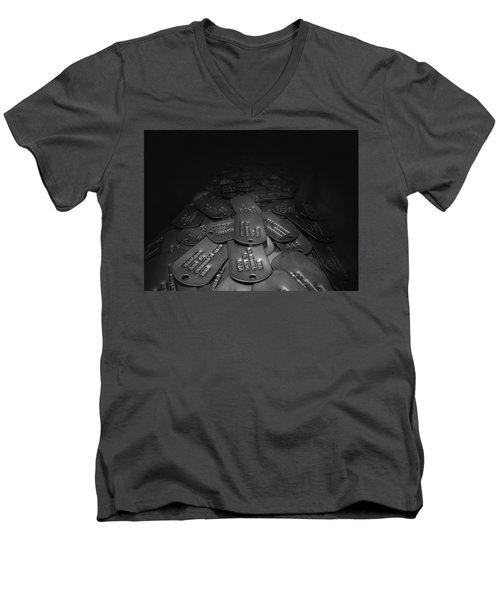 Remember The Fallen Men's V-Neck T-Shirt