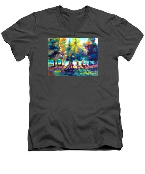 Remember The Son Men's V-Neck T-Shirt