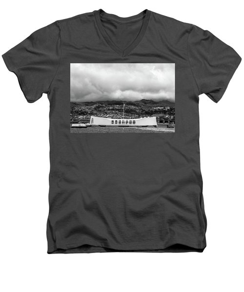 Men's V-Neck T-Shirt featuring the photograph Remembrance by Colleen Coccia