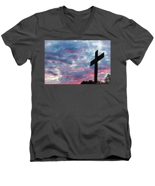 Reminded Men's V-Neck T-Shirt