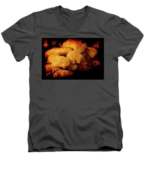 Renaissance Ginger Men's V-Neck T-Shirt