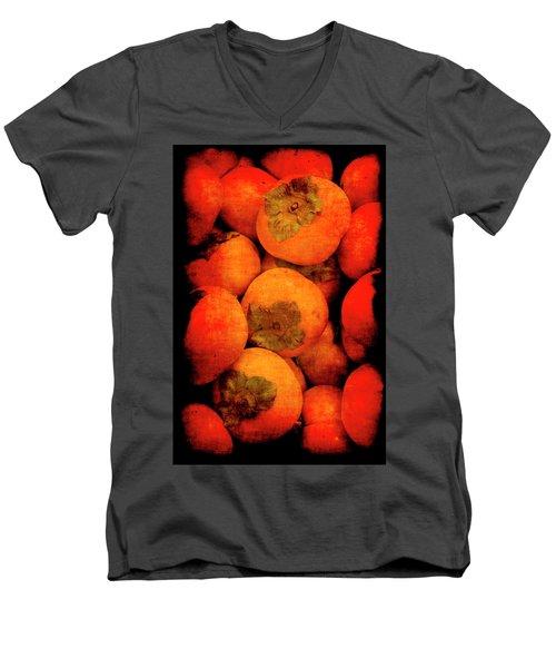 Renaissance Persimmons Men's V-Neck T-Shirt
