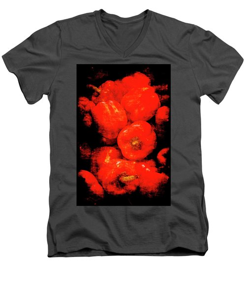 Renaissance Red Peppers Men's V-Neck T-Shirt