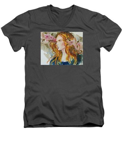 Renaissance Woman Men's V-Neck T-Shirt