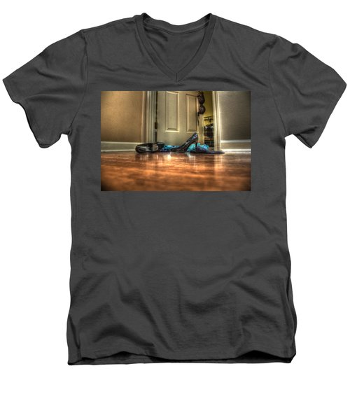Rendezvous Do Not Disturb 05 Men's V-Neck T-Shirt by Andy Lawless