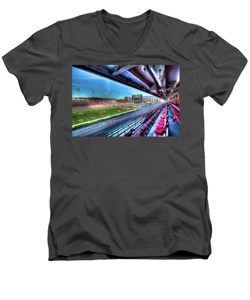 Renovated Martin Stadium Men's V-Neck T-Shirt