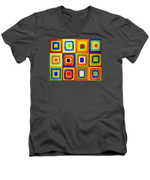 Repeat Men's V-Neck T-Shirt
