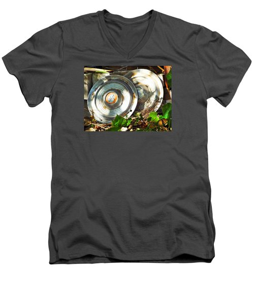 Replaced With Spinners Men's V-Neck T-Shirt