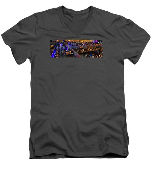 Replay Fx #7 Men's V-Neck T-Shirt