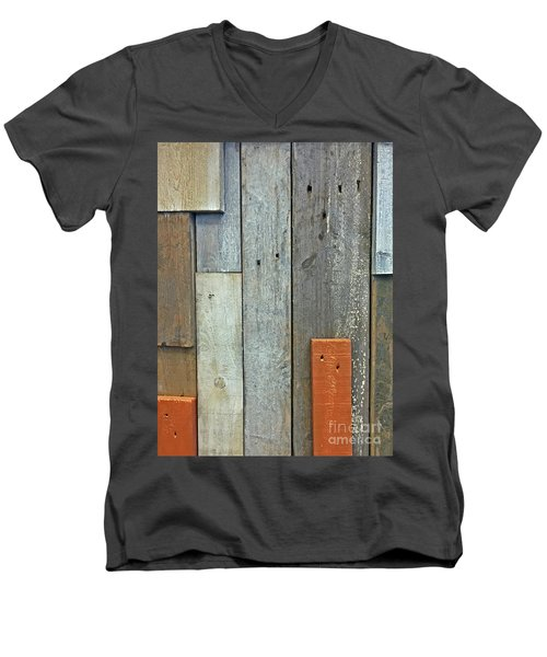 Repurposed Men's V-Neck T-Shirt
