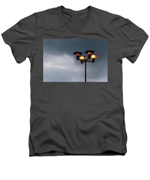 Responding To Light 2 - Men's V-Neck T-Shirt