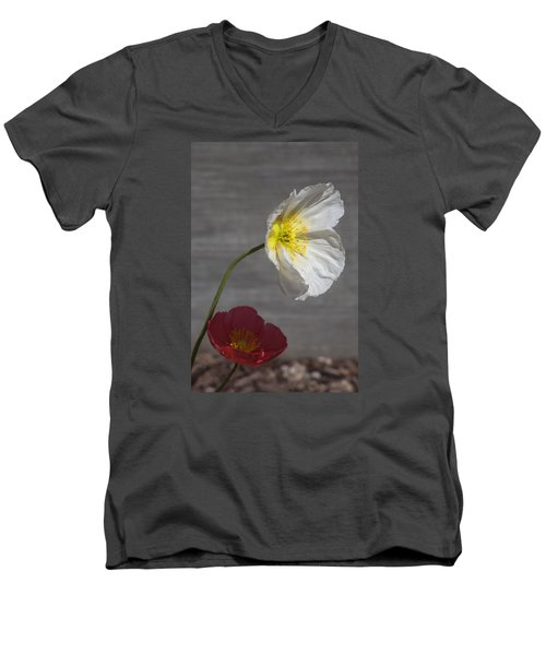 Resting In Your Shade Men's V-Neck T-Shirt by Morris  McClung