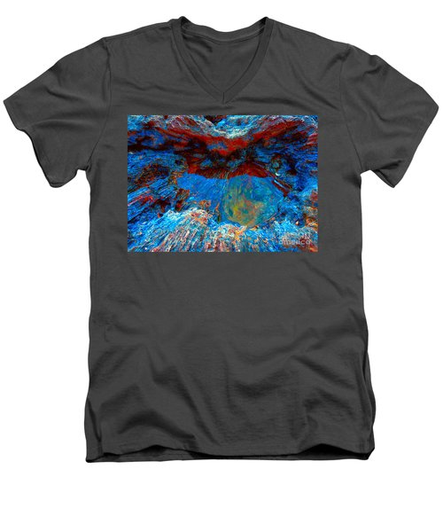 Resting Nature Men's V-Neck T-Shirt