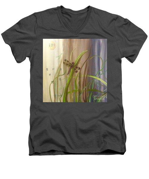 Restoration Of The Balance In Nature Men's V-Neck T-Shirt