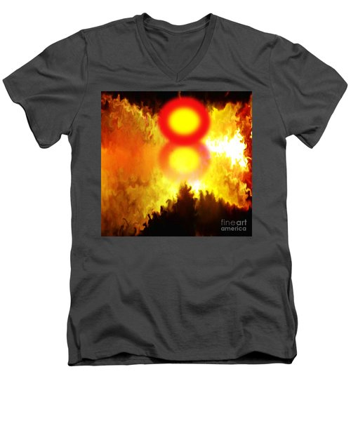 Resurrection Day For The Perished Men's V-Neck T-Shirt