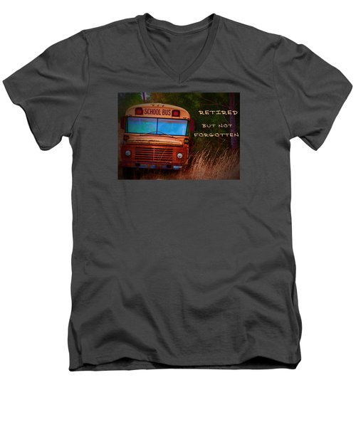 Retired But Not Forgotten Men's V-Neck T-Shirt