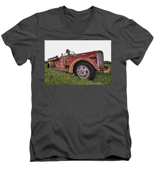 Retired Hero Men's V-Neck T-Shirt