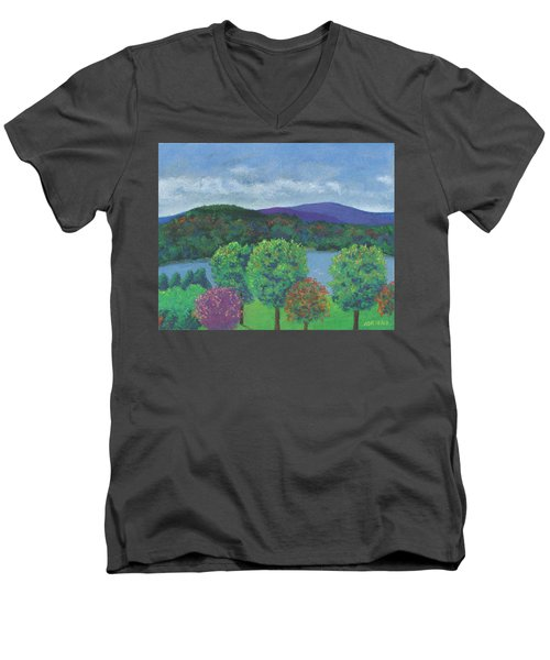 Return Men's V-Neck T-Shirt