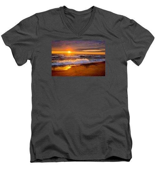 Return Engagement  Men's V-Neck T-Shirt by John Harding