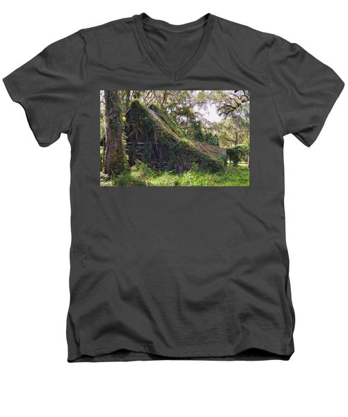 Returning To Nature Men's V-Neck T-Shirt