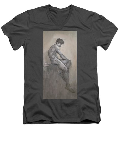 Reuben Men's V-Neck T-Shirt