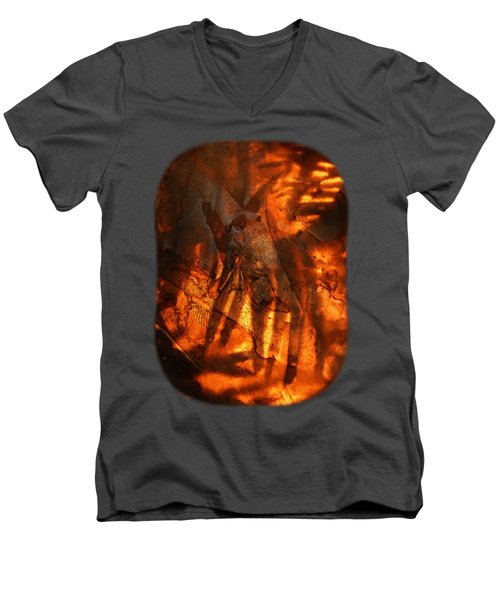 Revelation Men's V-Neck T-Shirt by Sami Tiainen