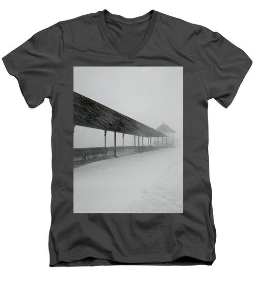 Revere Beach Nor'easter -jan 4,2018 Men's V-Neck T-Shirt