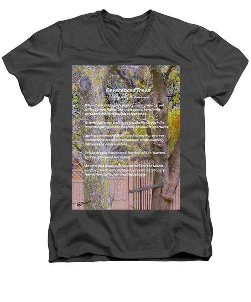 Reverence Of Trees Men's V-Neck T-Shirt