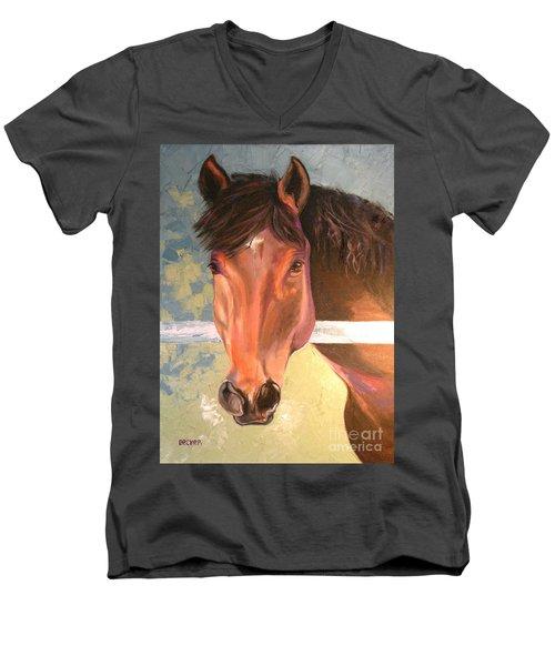 Reverie - Quarter Horse Men's V-Neck T-Shirt