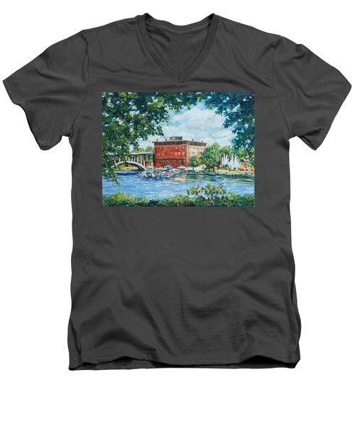 Rever's Marina Men's V-Neck T-Shirt
