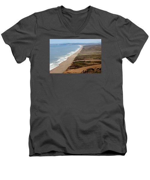 Reyes Point Men's V-Neck T-Shirt