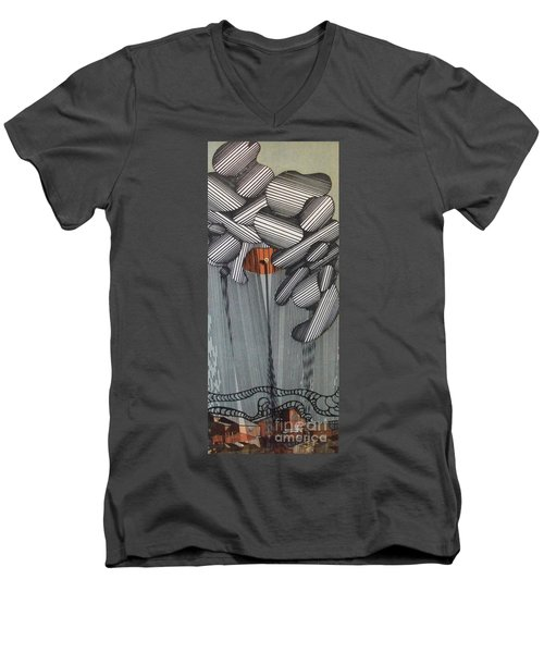 Rfb0100 Men's V-Neck T-Shirt