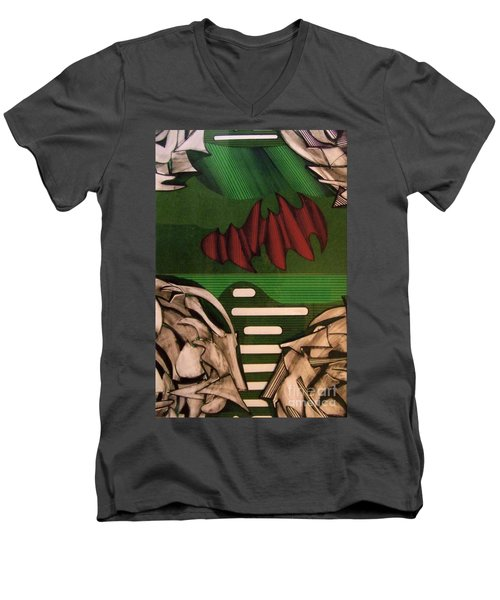 Rfb0110 Men's V-Neck T-Shirt