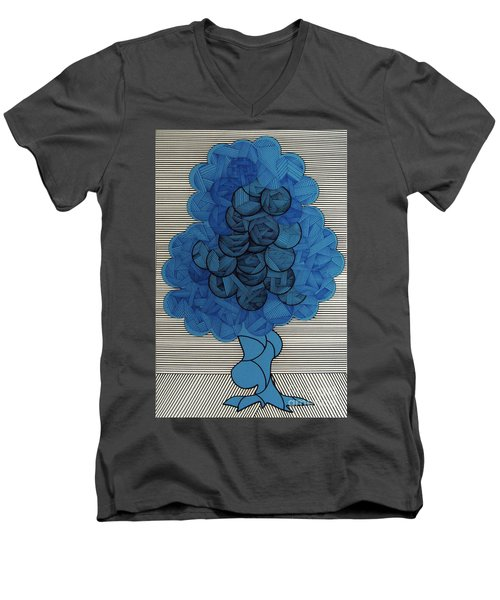 Rfb0505 Men's V-Neck T-Shirt