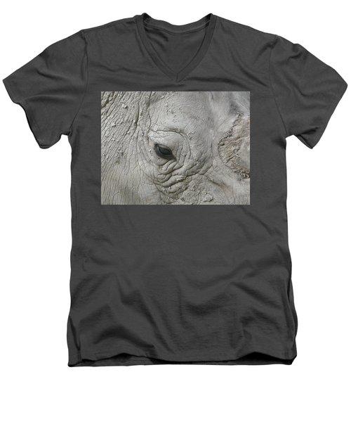 Rhino Eye Men's V-Neck T-Shirt
