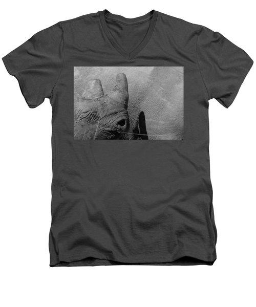 Rhinos Men's V-Neck T-Shirt