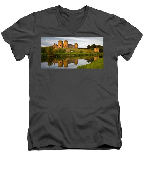 Rhuddlan Castle Men's V-Neck T-Shirt