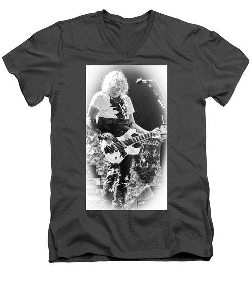 Ric Savage Men's V-Neck T-Shirt by Luisa Gatti