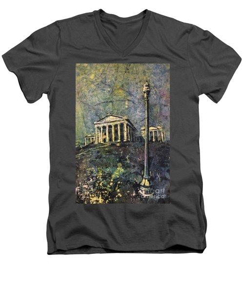 Richmond Capitol Men's V-Neck T-Shirt by Ryan Fox