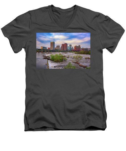Richmond Skyline Men's V-Neck T-Shirt