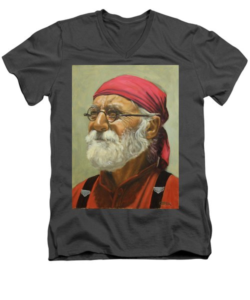 Rickabod At High Noon Men's V-Neck T-Shirt