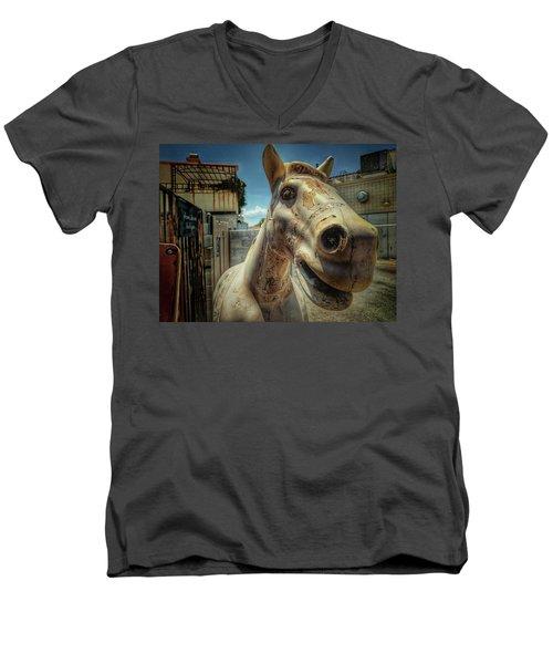 Ride  Men's V-Neck T-Shirt
