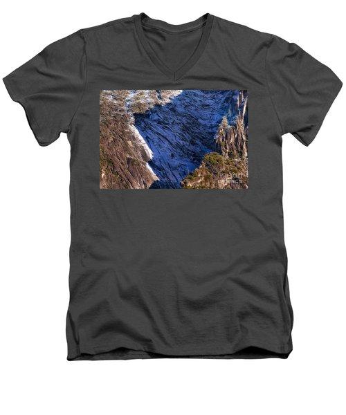 Ridgeline Shadows Men's V-Neck T-Shirt