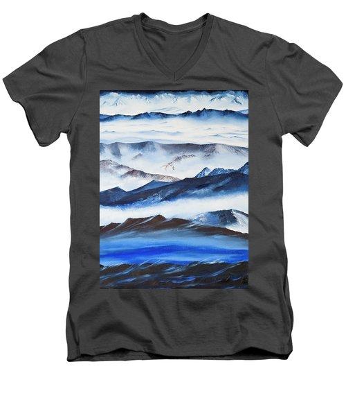 Ridgelines Men's V-Neck T-Shirt
