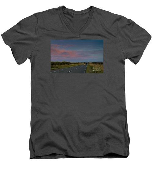 Riding Into The Sunset Men's V-Neck T-Shirt