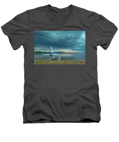 Riding The Storm Out Men's V-Neck T-Shirt