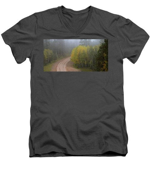 Rim Road Men's V-Neck T-Shirt