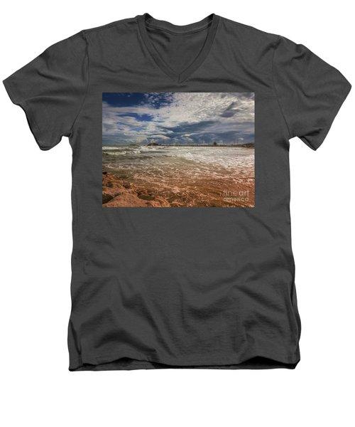 Rimini Storm Men's V-Neck T-Shirt