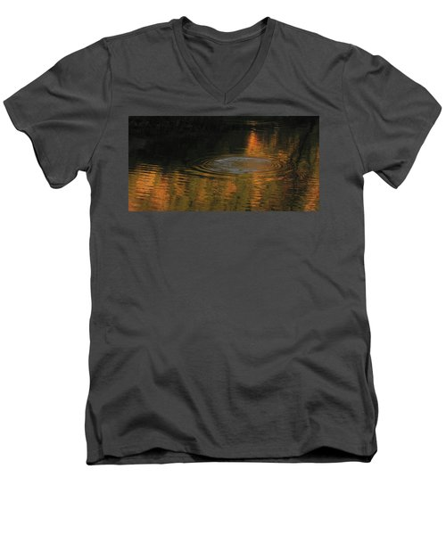 Rings And Reflections Men's V-Neck T-Shirt