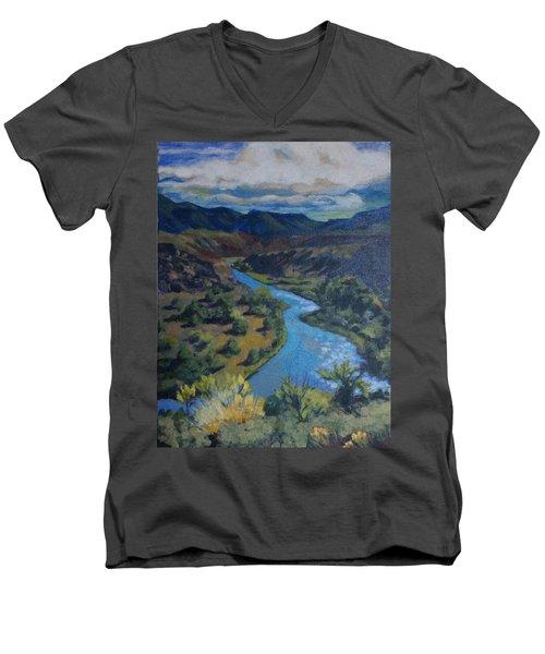 Rio Chama Men's V-Neck T-Shirt